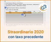 Bilancio Straordinario 2020, utilizzando la tassonomia precedente