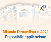 Bilancio Straordinario 2021: disponibile applicazione
