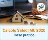 Calcolo saldo IMU 2020: caso pratico