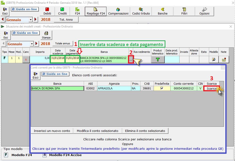 Caso pratico: creazione e invio file telematico da F24 - 1