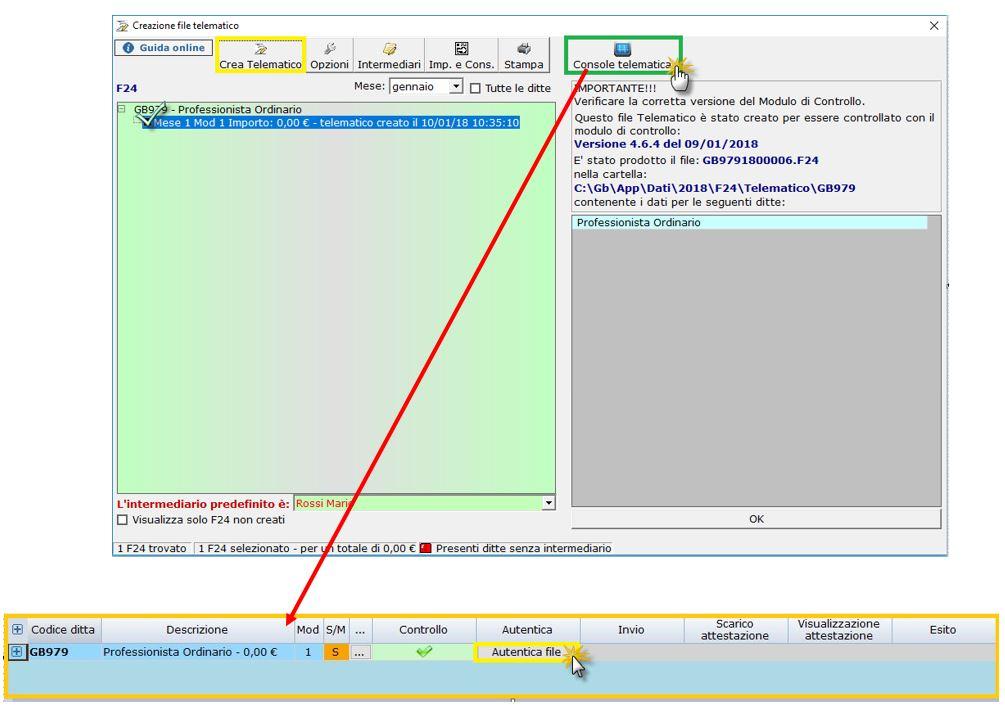 Caso pratico: creazione e invio file telematico da F24 - 4