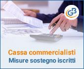 Cassa Nazionale Commercialisti: ecco le misure a sostegno degli iscritti