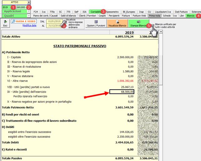 Cessazione attività - ricaricare i saldi da Excel: caso pratico - CEE unificato al 31-12-19