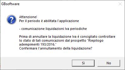 Comunicazione Liquidazioni periodiche Iva: invio sostitutivo: messaggio valutazione approfondita