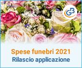 Comunicazione spese funebri 2021 imposta 2020: rilascio applicazione