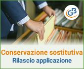 Conservazione sostitutiva 2019: rilascio applicazione
