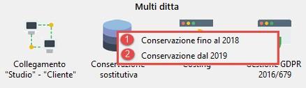 Conservazione Sostitutiva: configurazione e invio delega - Multiditta