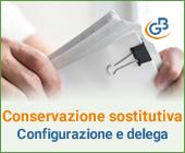 Conservazione Sostitutiva: configurazione e invio delega