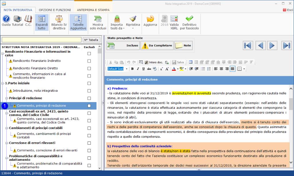 Continuità aziendale e Covid-19: cosa scrivere in bilancio - Opzione commento, principi di redazione