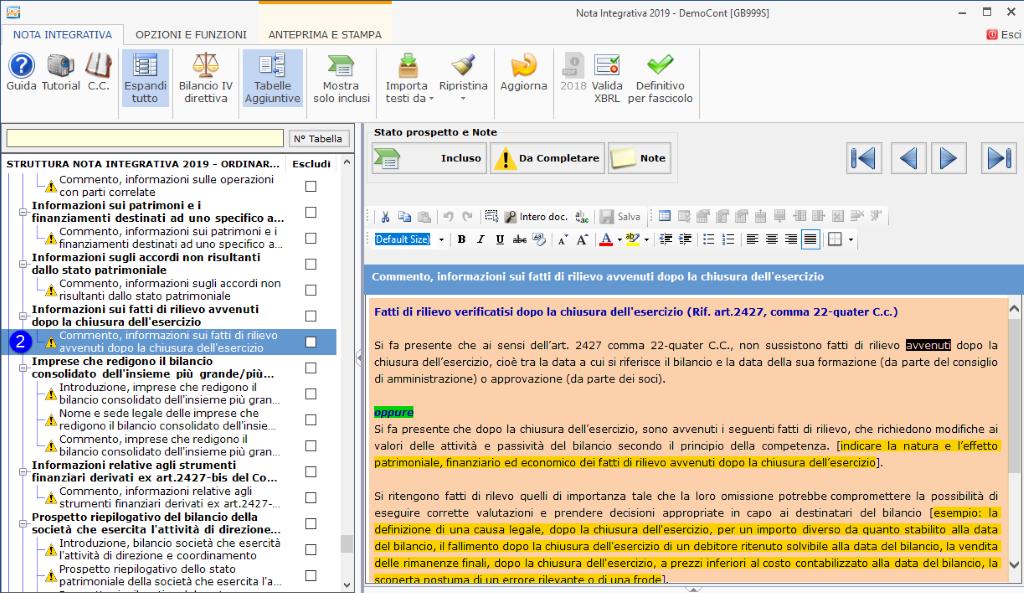 Continuità aziendale e Covid-19: cosa scrivere in bilancio - Commento, informazione sui fatti di rilievo