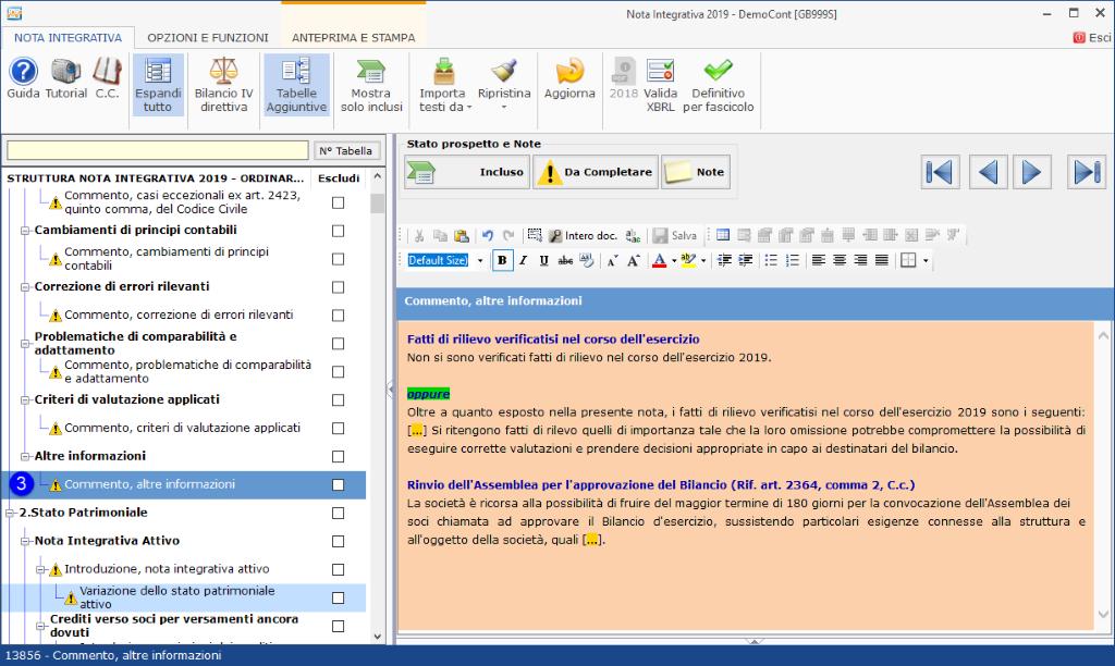 Continuità aziendale e Covid-19: cosa scrivere in bilancio - Commento altre informazioni