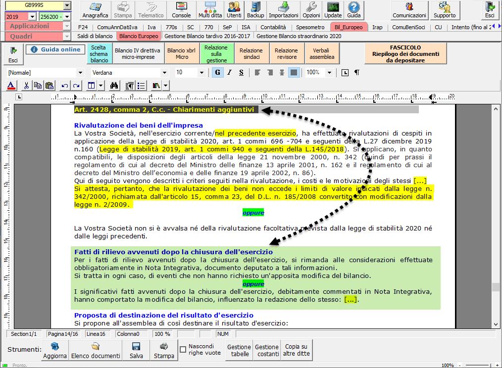 Continuità aziendale e Covid-19: cosa scrivere in bilancio - Chiarimenti aggiuntivi