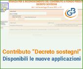 """Contributo """"Decreto sostegni"""": disponibili le nuove applicazioni"""
