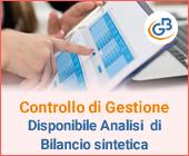 Controllo di Gestione: disponibile Analisi di Bilancio Sintetica