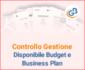 Controllo di Gestione: disponibile Budget e Business Plan