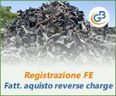 Registrazione FE: fattura acquisto reverse charge