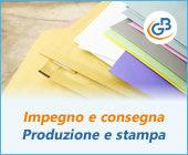 Gestione Impegno e Consegna 2019: produzione e stampa