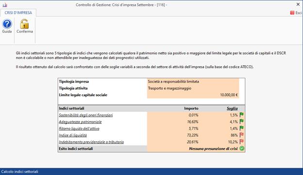 Crisi d'impresa: nuovo modulo disponibile - Calcolo indici del CNDCEC