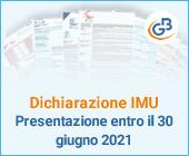 Dichiarazione IMU: presentazione entro il 30 giugno 2021