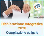 Dichiarazione integrativa 2020: compilazione ed invio
