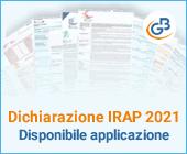 Dichiarazione IRAP 2021: disponibile applicazione