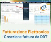 Fatturazione Elettronica: creazione fattura da DDT