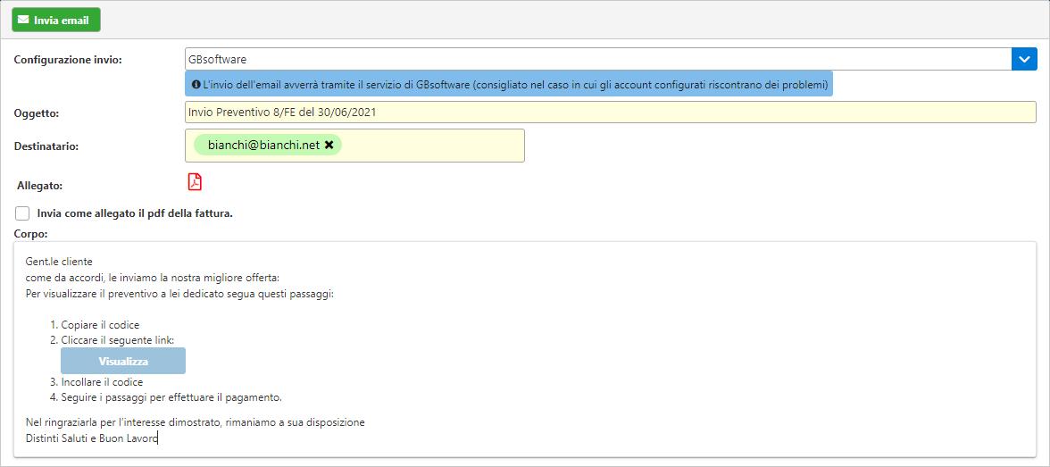 Fatturazione inWeb: invio documenti tramite Adesione Online: maschera credenziali