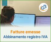 Fatture elettroniche emesse: abbinamento al registro Iva
