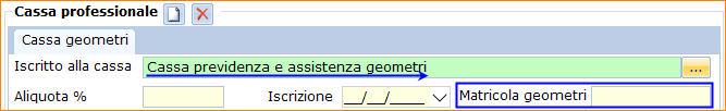 Cassa Professionale - Geometri
