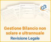 Gestione Bilancio non solare e ultrannuale: Revisione Legale