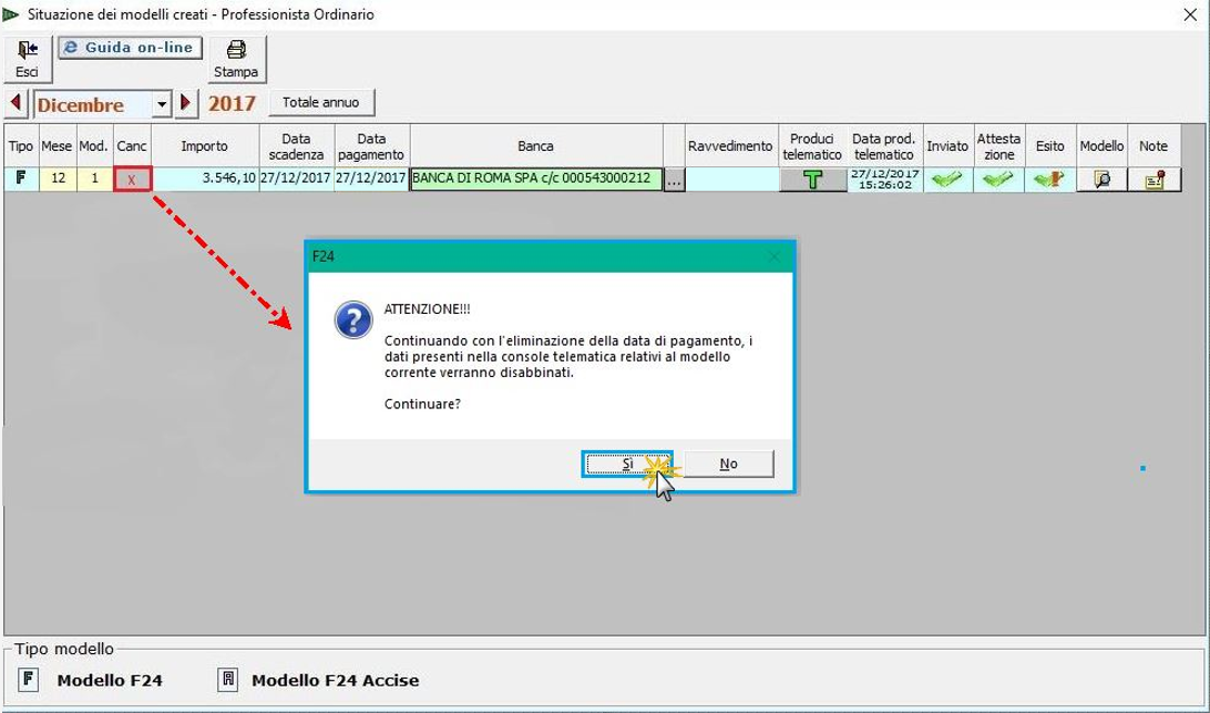 Caso pratico: gestione F24 scartato inviato tramite Console - 4
