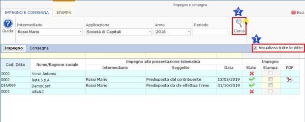 Gestione Impegno e Consegna 2019: produzione e stampa-impegno e stampa