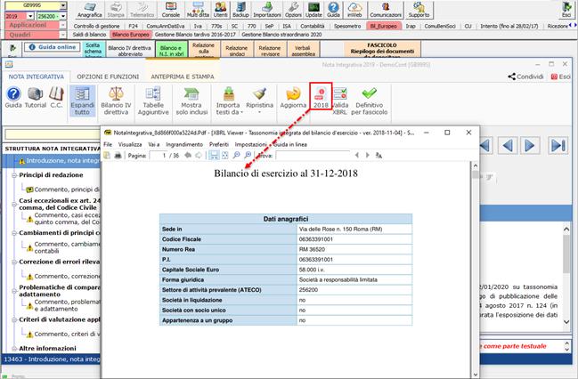 Help e utility a supporto dei clienti GB - PDF anno precedente