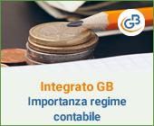 Integrato GB: l'importanza del regime contabile