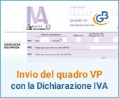 Invio del quadro VP con la dichiarazione Iva