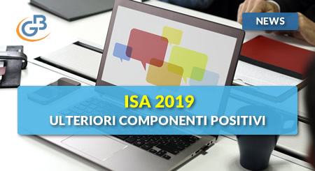 News - ISA 2019: gestione Ulteriori componenti positivi