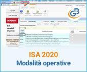 ISA 2020: modalità operative