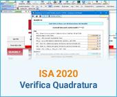 ISA 2020: Verifica Quadratura