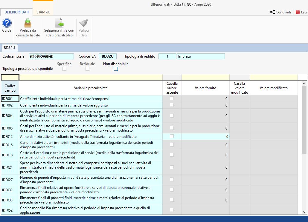 ISA Indici sintetici di affidabilità fiscale 2021: disponibile applicazione: importare dati