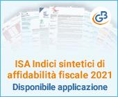 ISA Indici sintetici di affidabilità fiscale 2021: disponibile applicazione