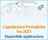 Liquidazioni Periodiche Iva 2021: disponibile applicazione