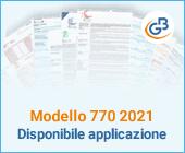 Modello 770 2021: disponibile applicazione