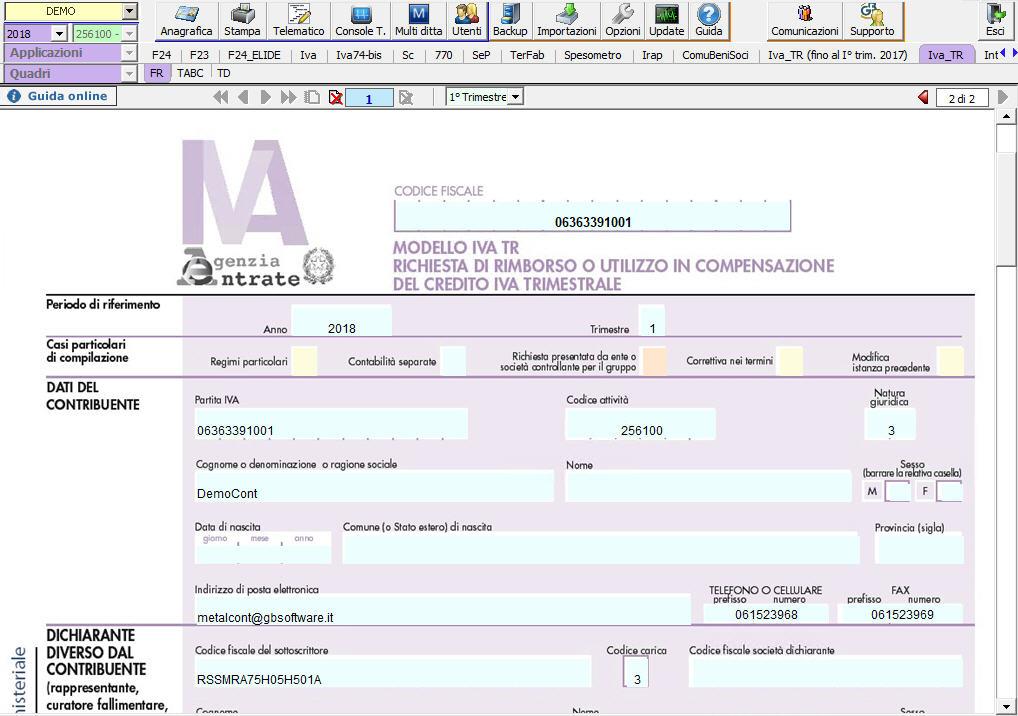 Modello IVA-TR 2018: rilascio applicazione - 4