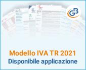 Modello IVA TR 2021: disponibile applicazione