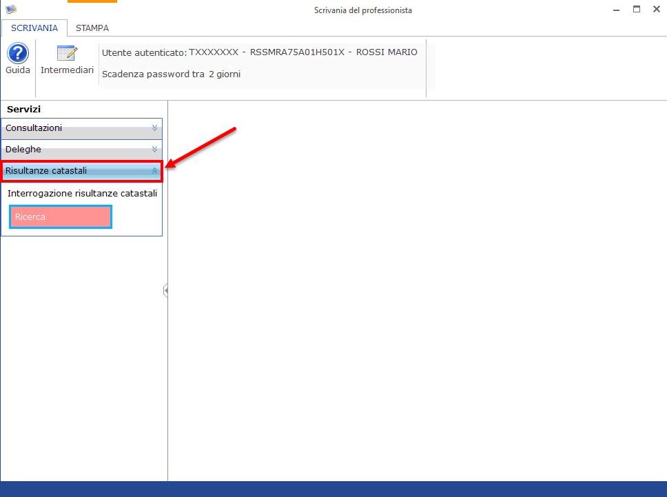 Nuove utility: Scrivania del professionista e Verifica catasto+risultanze-catastali