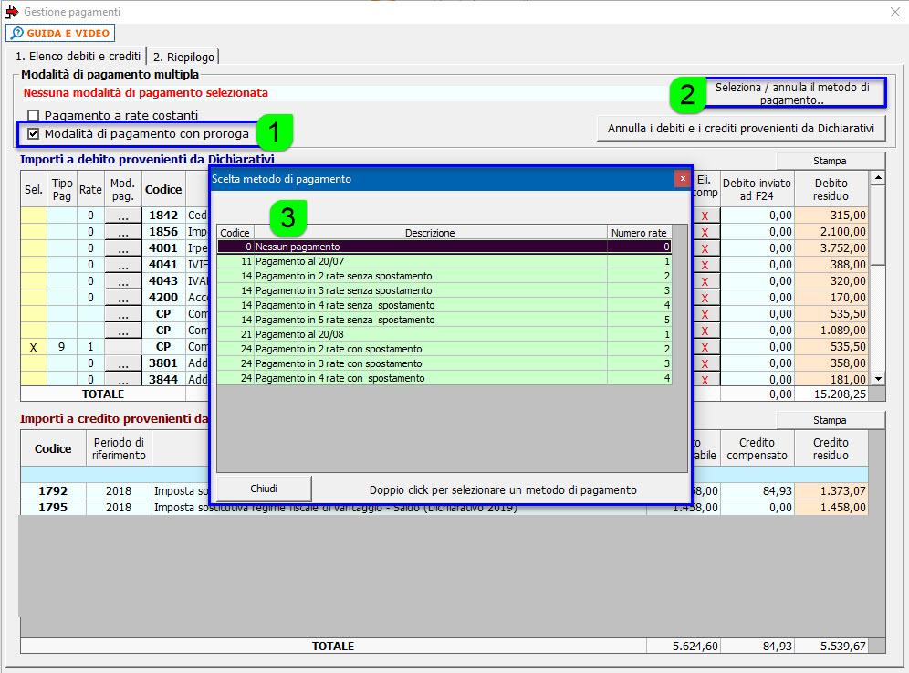 Pagamento imposte 2020: proroga versamenti - Modalità di pagamento con proroga