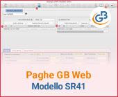 Paghe GB Web: Caso pratico – Modello SR41