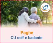 Paghe GB Web: Dichiarazione Sostitutiva CU Colf e Badante
