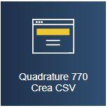 Paghe GB Web e Modello 770/2020 - Quadrature 770 e Crea CSV
