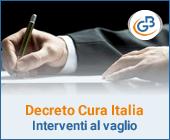 Di quali interventi si sta discutendo nel nuovo Decreto Cura Italia